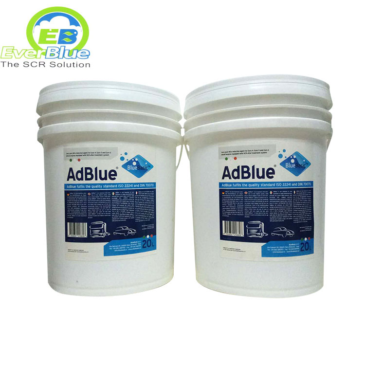 AdBlue 32.5% is better to lower the NOx concentration.