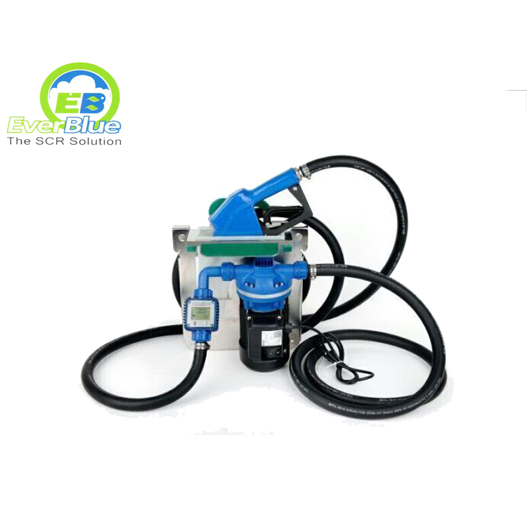 High quality AdBlue filling equipment with AdBlue pump ,hose ,nozzle for IBC
