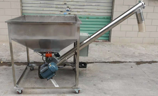 Automatic screw feeder